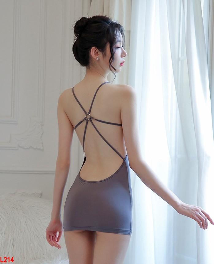Đầm ngủ ôm body Kiều nữ form ngắn gợi cảm