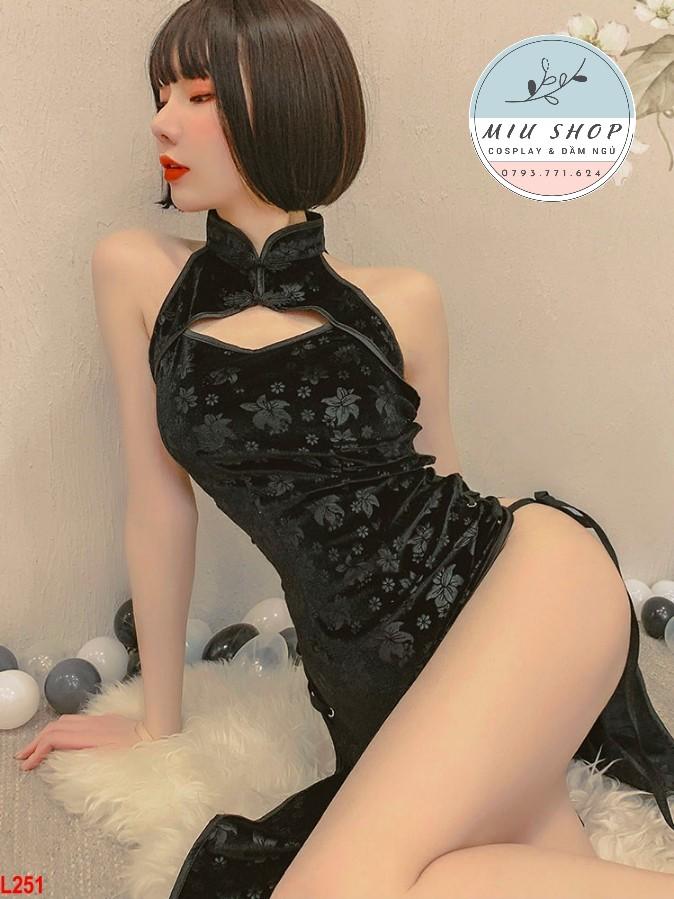 Đồ cosplay sườn xám Trung Hoa sexy