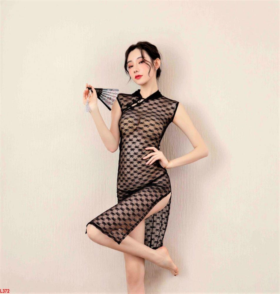 Đầm ngủ Thượng Hải xuyên thấu Siêu gợi cảm