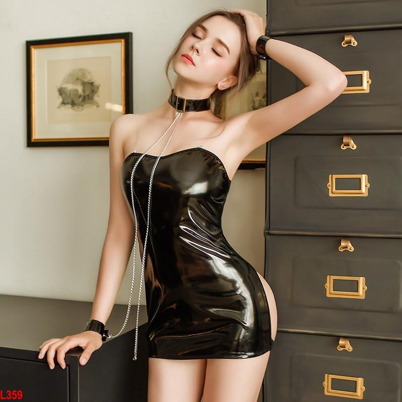 Đồ cosplay da bóng bad girl cực hot