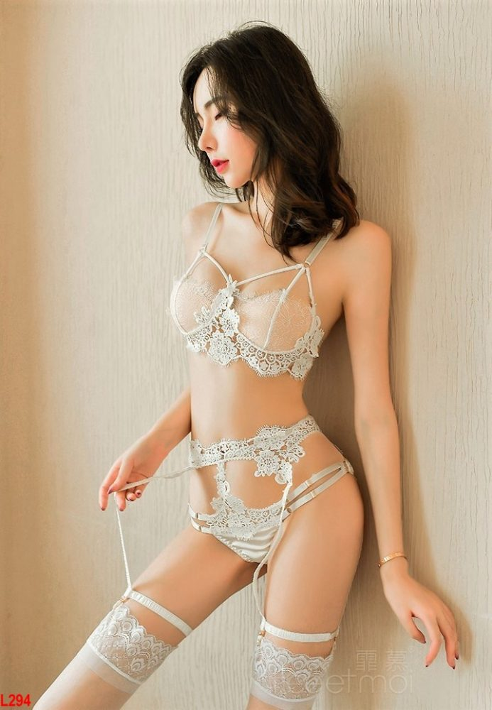 Set nội y mỏng Cao cấp Playboy sexy